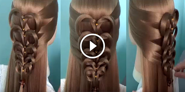 How To Create Stranded Drop Of Water Hairstyle, See Tutorial