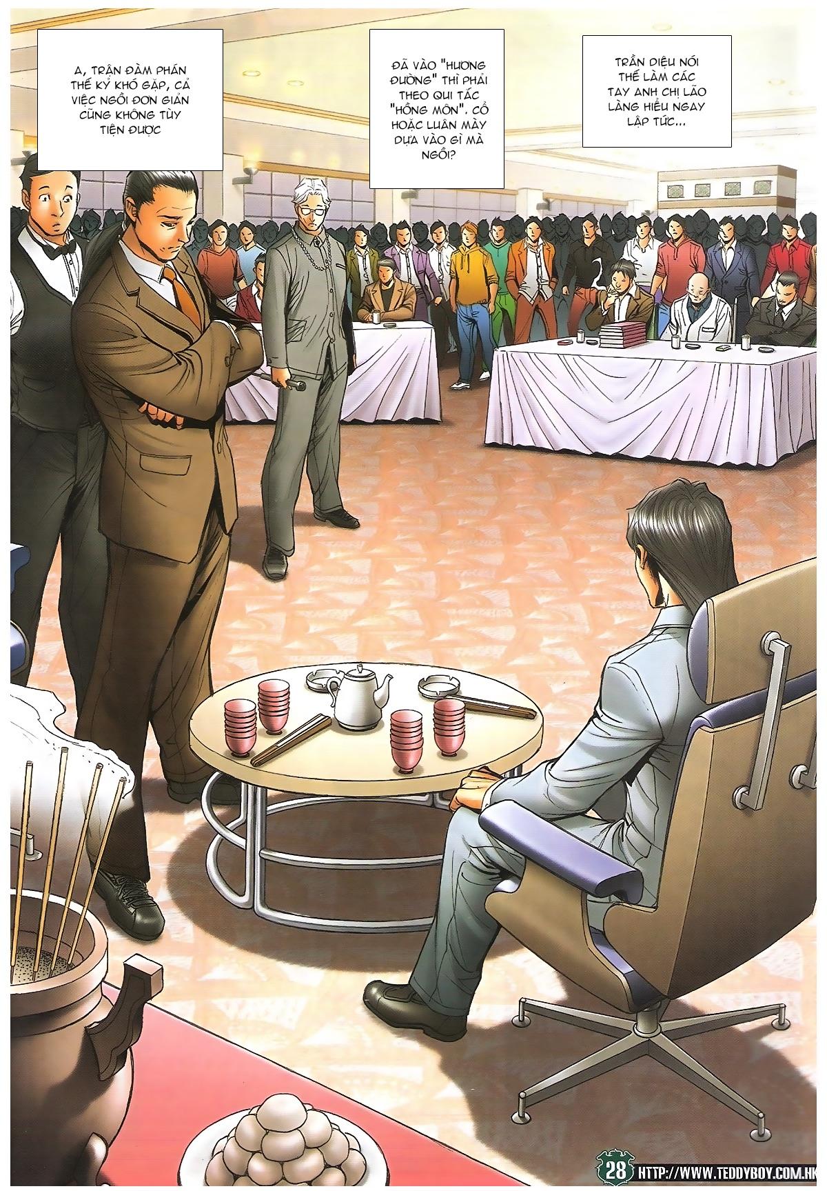 Người Trong Giang Hồ - Ngũ Hổ qui thiên - Chapter 1715: Đàm phán siêu cấp - Pic 24
