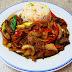 [709] Gebratener Reis mit Rindfleisch