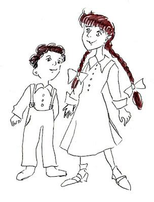 Эвелина Васильева. Лёля и Минька
