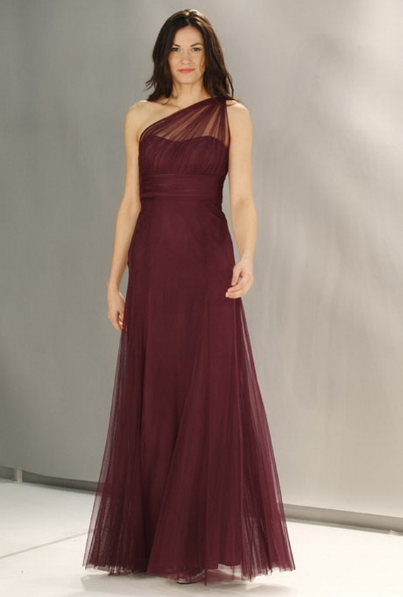 Women Fall Bridesmaid Dresses 2012
