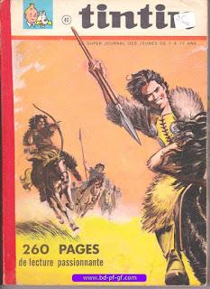 Tintin recueil souple, numéro 40, année 1967