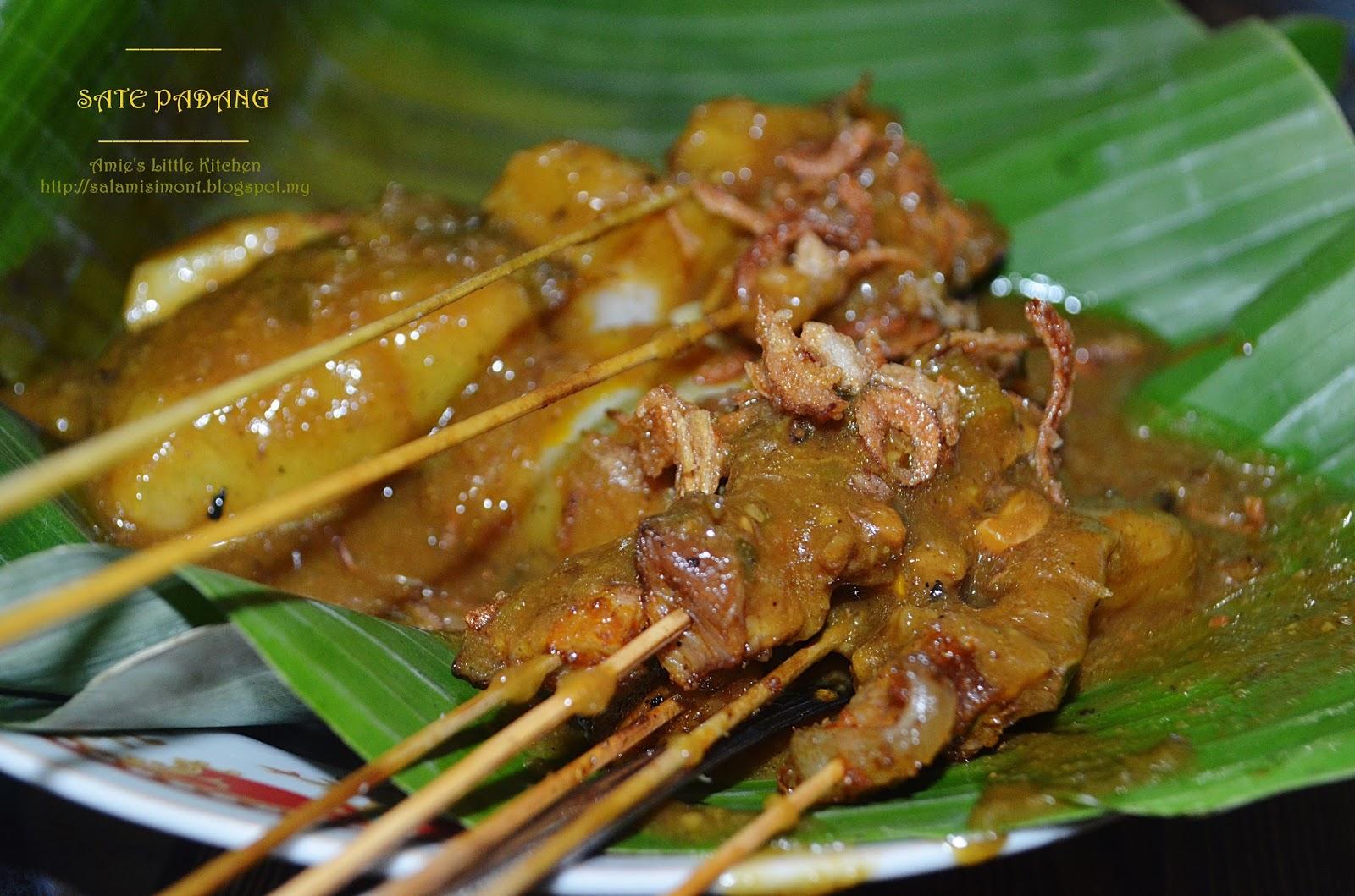 Amie S Little Kitchen Sate Padang Kms Saribu Baniah
