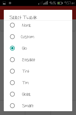 Stark Vpn Version 2.8 For Etisalat And Glo Free Browsing
