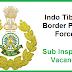 ITBP Vacancy 2017 | Sub Inspector