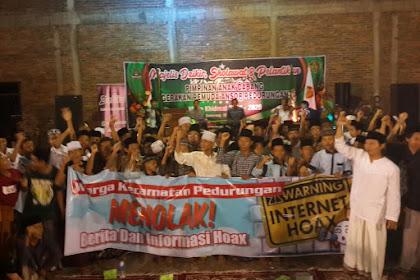 Pelantikan PAC GP Ansor Pedurungan, Deklarasikan Tolak Hoax