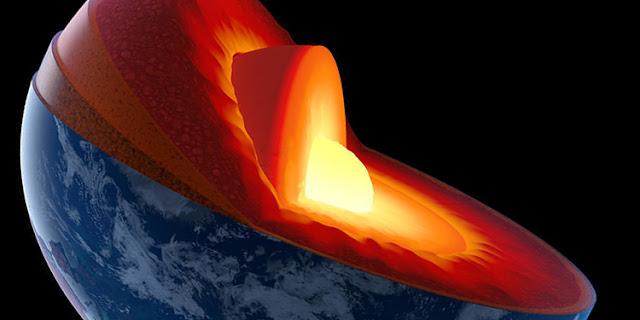 Oceano subterrâneo 3 vezes maior que todos os oceanos da Terra é descoberto