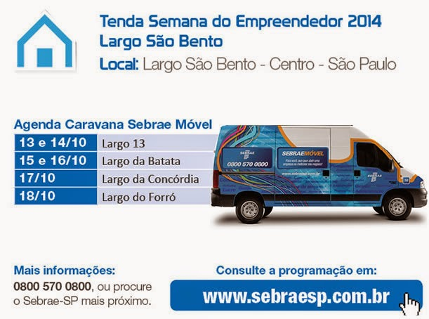 Marketing e vendas na semana do sebrae