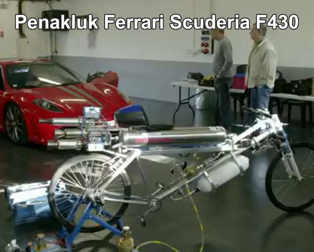 Sepeda Onthel kalahkan Ferrari
