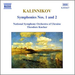 Vasily Sergeyevich Kalinnikov (1866-1901): Sinfonías núm. 1 y 2 , por la Orquesta Sinfónica Nacional de Ucrania, bajo la dirección de Theodore Kuchar.