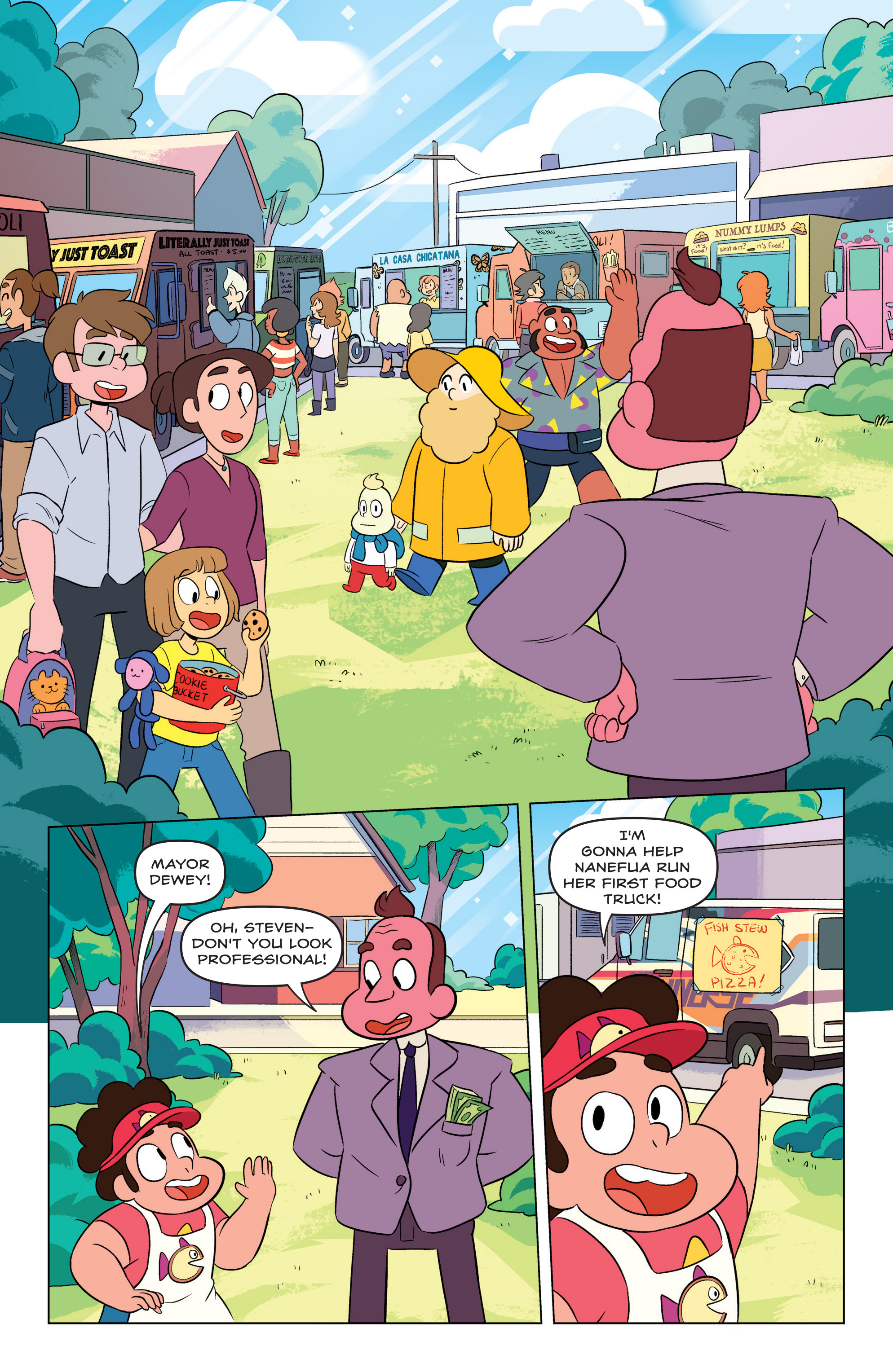 Read online Steven Universe Ongoing comic -  Issue #3 - 9
