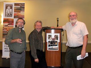 Harold Rhenisch, Eric Greenway, Paul Wilson - photo by Shelley Banks
