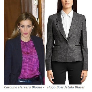 HUGO BOSS Women Suit CAROLINA HERRERA Blouse