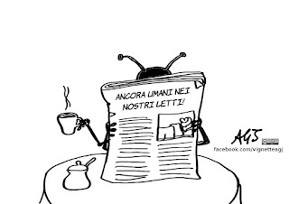 formiche, letti, ospedali, sanità, malasanità, vignetta, satira