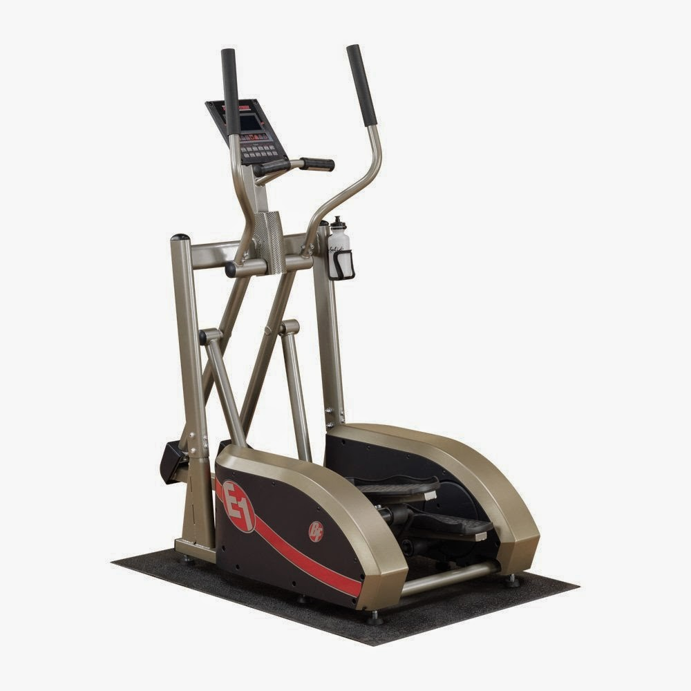 Best Fitness E1 Elliptical Trainer, picture, with Center Drive Design for a Natural Stride, review features & specifications