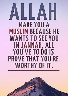 Islamic quotes image Allah made you as muslim quotes