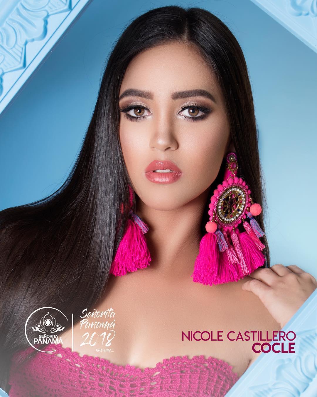 señorita miss colombia 2018 candidates candidatas contestants delegates Miss Coclé Nicole Castillero