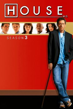 Dr. House 3ª Temporada Torrent - WEB-DL 720p Dual Áudio