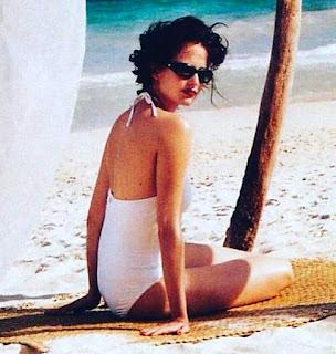 Eva Green In White Bikini