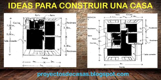 Ideas Para Construir Una Casa Proyectos De Casas