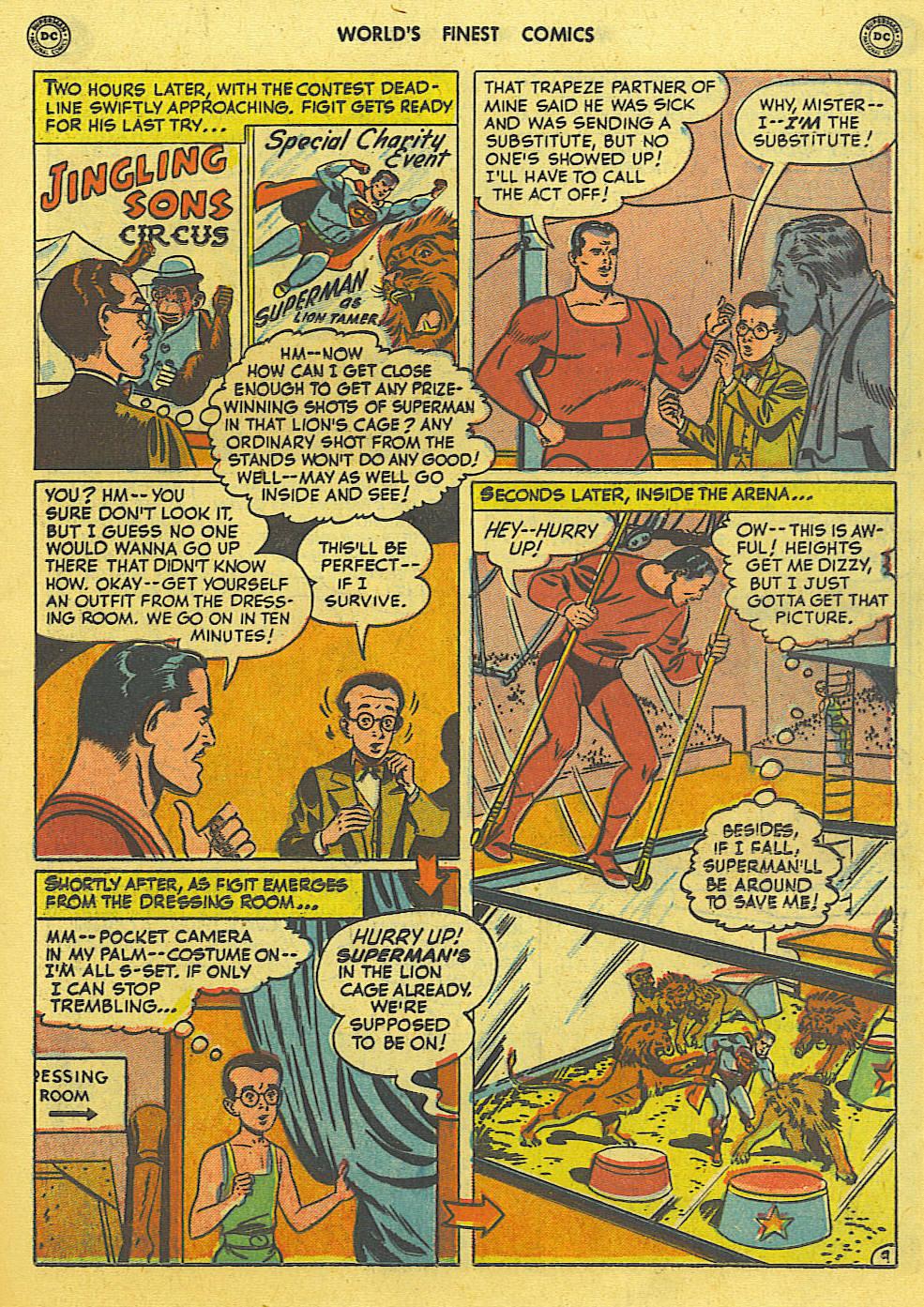 Read online World's Finest Comics comic -  Issue #49 - 12