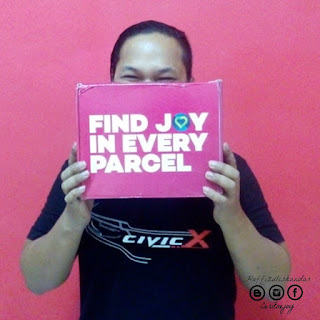 barang di dalam find joy in every parcel