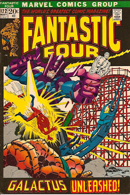 Fantastic Four #122, the Silver Surfer and Galactus