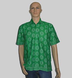 Baju Batik Pria [H1289] Hijau