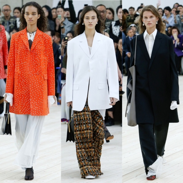 three looks from Celine Spring 2017