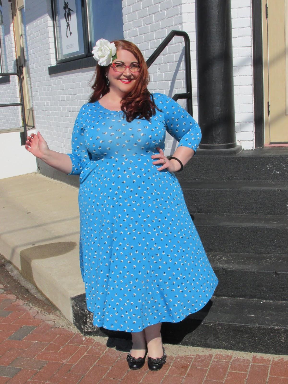 33dd9e8e39 I am wearing the Maria Dress in my usual Karina size