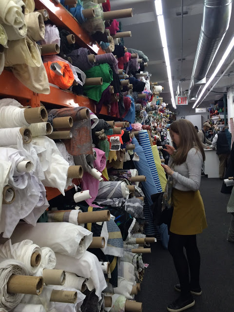 Diary of a Chain Stitcher: Shopping the Garment District in NYC