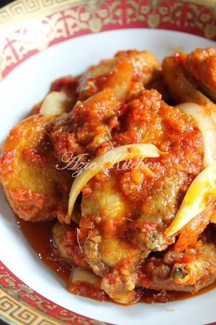 Ayam Masak Berlada Yang Serius Sedap