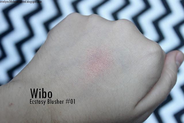 Wibo Ecstasy Blusher 01