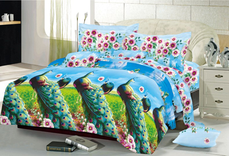 Sprei Kintakun Luxury Peacock