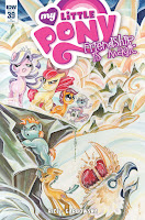 MLP FIM #39 by IDW Retailer Incentive Cover by Sara Richard
