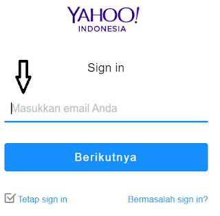 Cara Melakukan Verifikasi Akun Yahoo