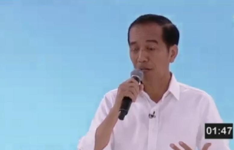 Jokowi debat pilpres