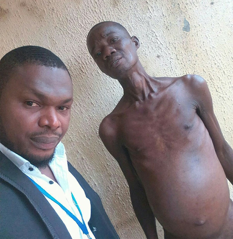 Photos: See shocking state of prisoners at Delta State prison