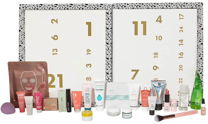 Contents and full spoilers of the ASOS 24-day Beauty Advent Calendar 2018 - it ships worldwide free!