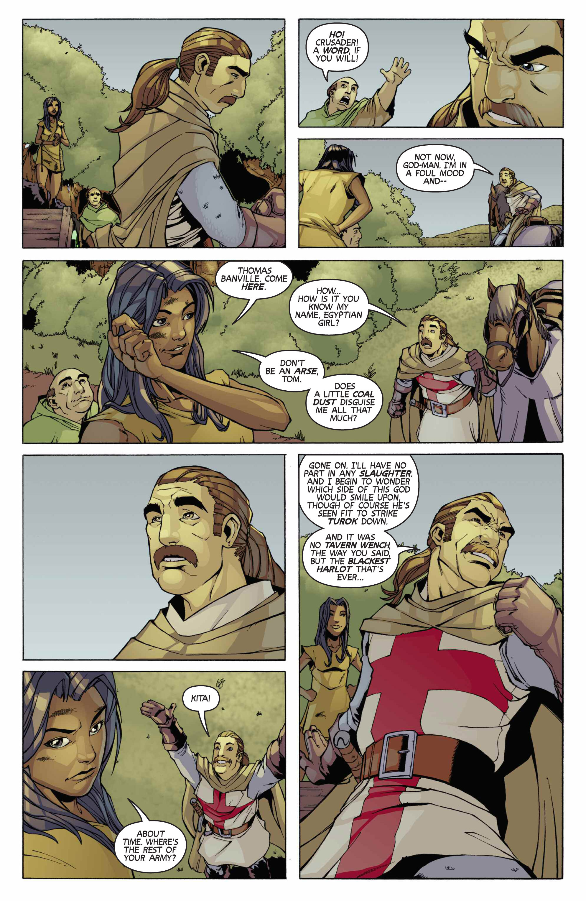 Read online Turok: Dinosaur Hunter (2014) comic -  Issue # _TPB 3 - 78