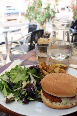 Marseille: Veggie-Burger im Viertel Le Panier