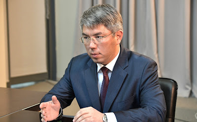 Acting Head of Buryatia Alexei Tsydenov.