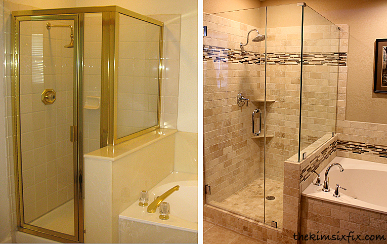 The shower - Before and after small bathroom remodels ...
