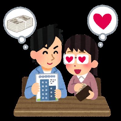 デート商法のイラスト(男性)