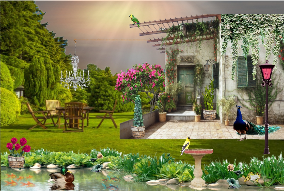 My Secret Garden: My Art Bag: Sunday Postcard Art Challenge