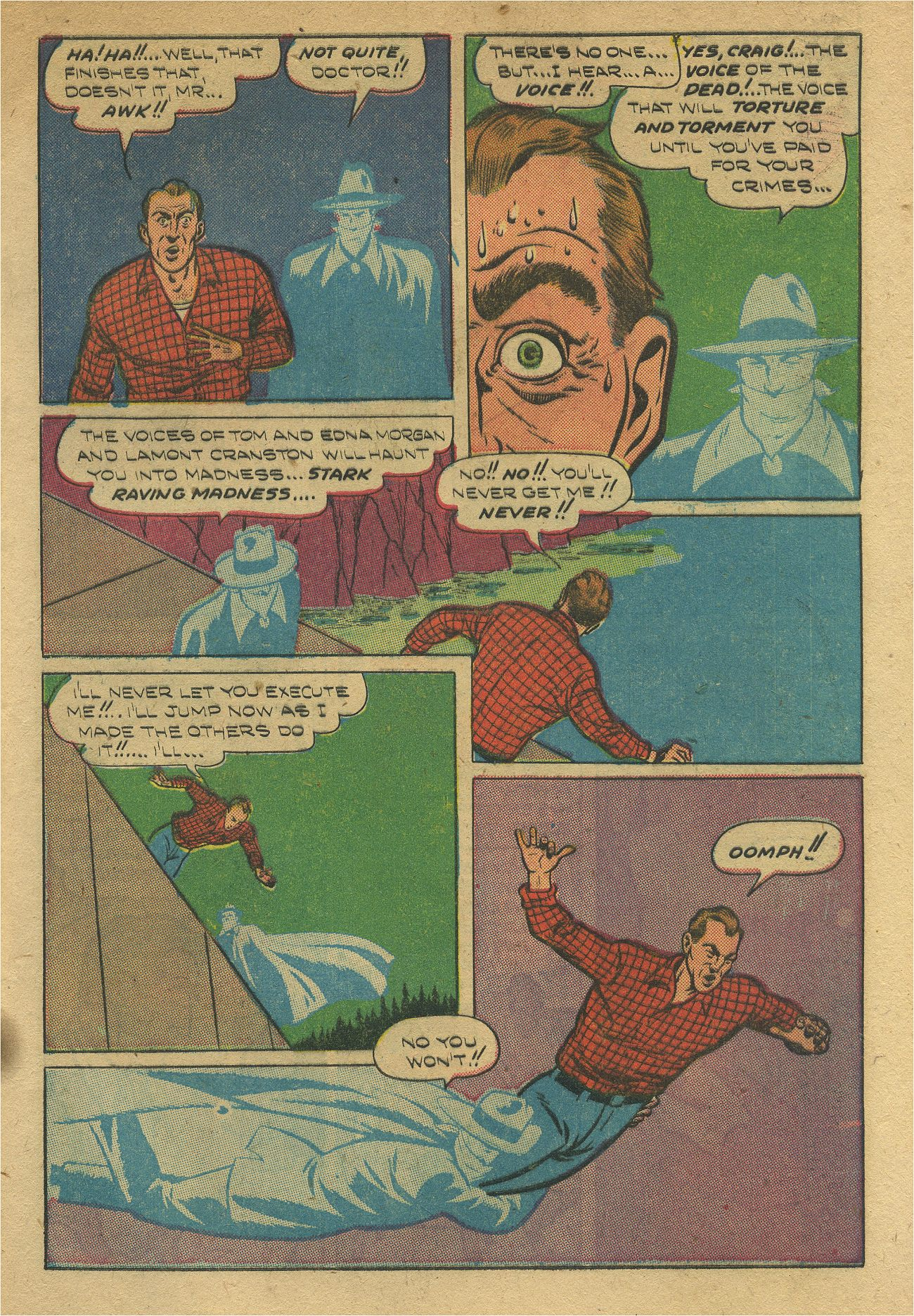 Read online Shadow Comics comic -  Issue #93 - 14