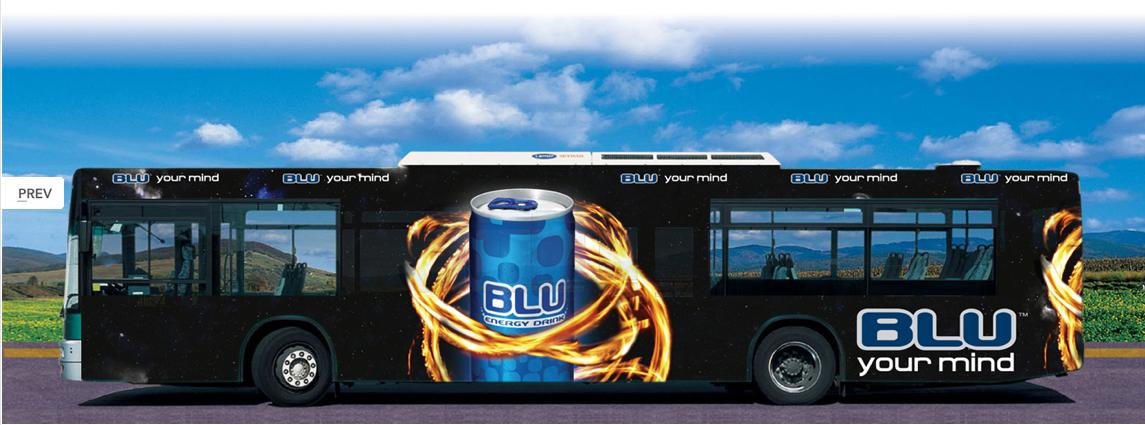 אוטובוס עיצוב גרפי : רון ידלין, סטודיו לעיצוב גרפי