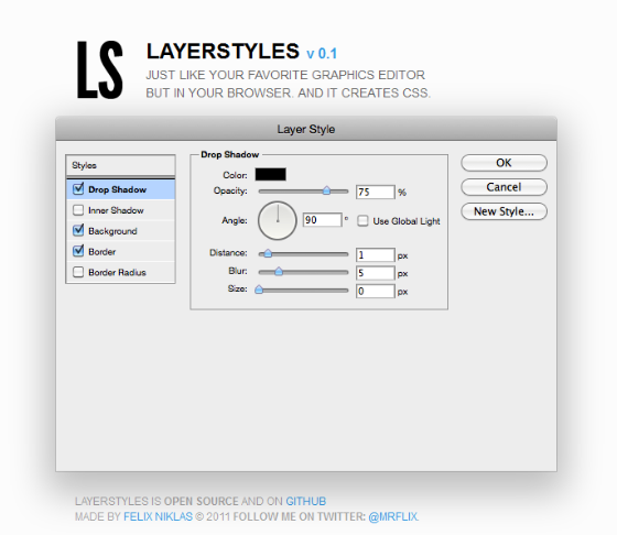 Layer Styles: un editor visual de capas