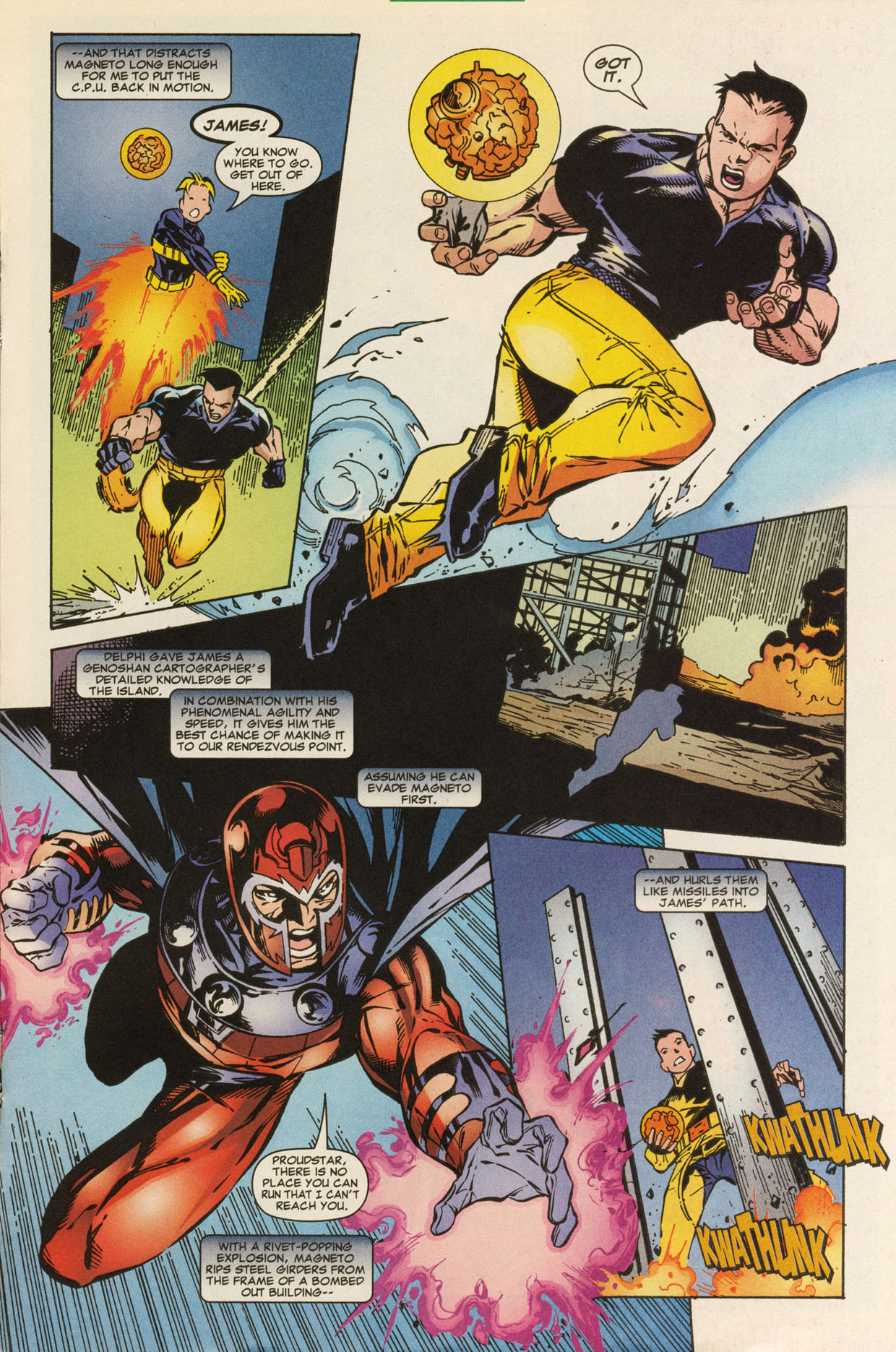 Read online X-Force (1991) comic -  Issue #95 - 16