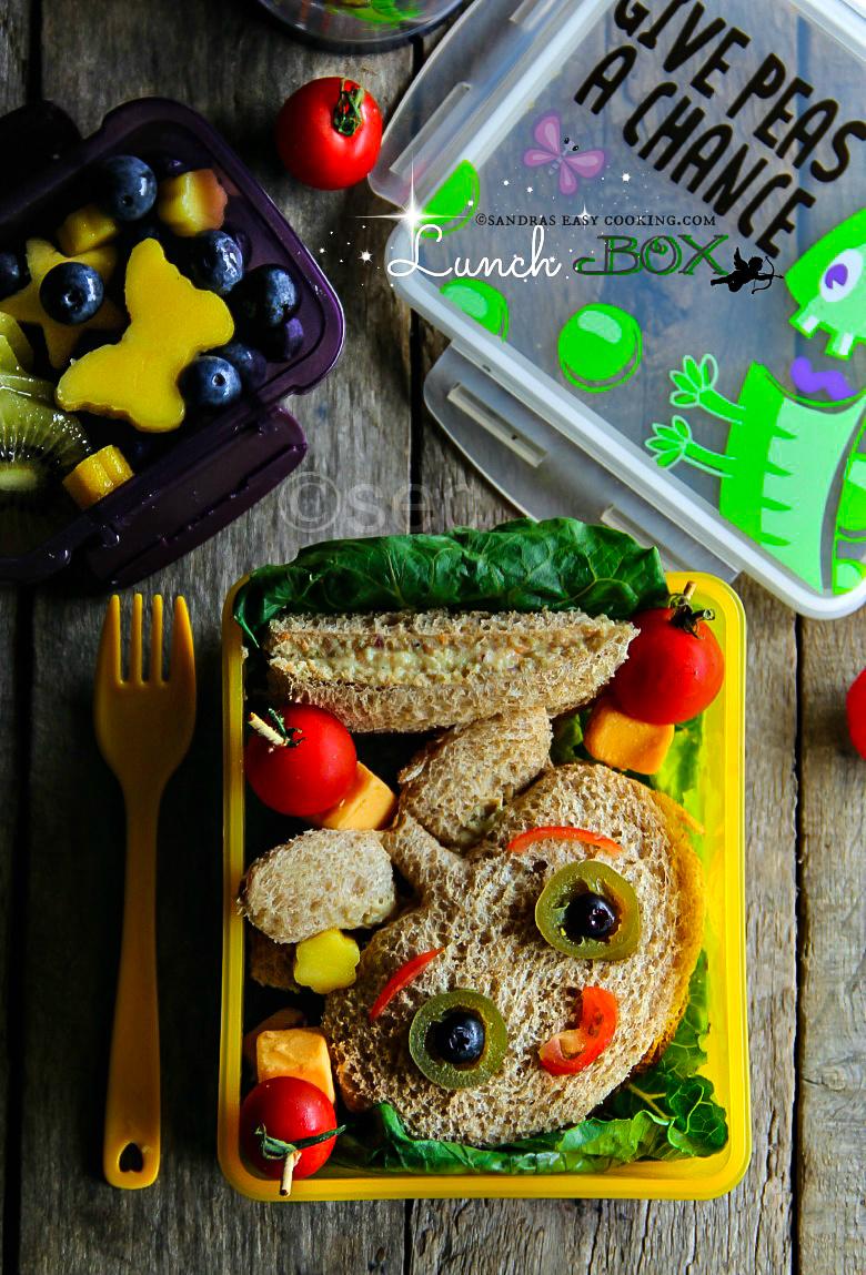 Lunch Box: Chicken Salad Sandwich #lunchbox #schoollunch #homemade #bento #dosirak